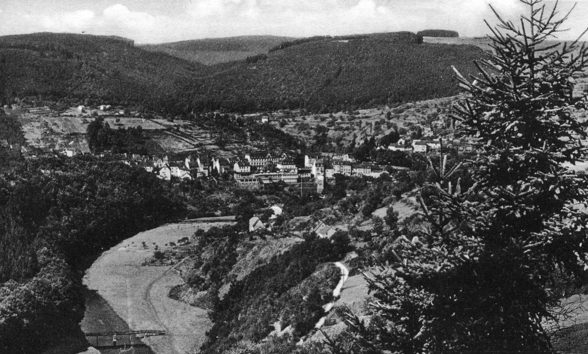 1935 Blick von der Linde