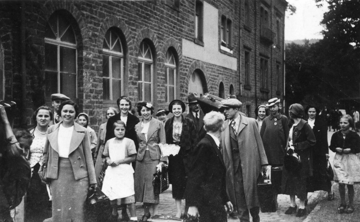 1935 KdF Gäste