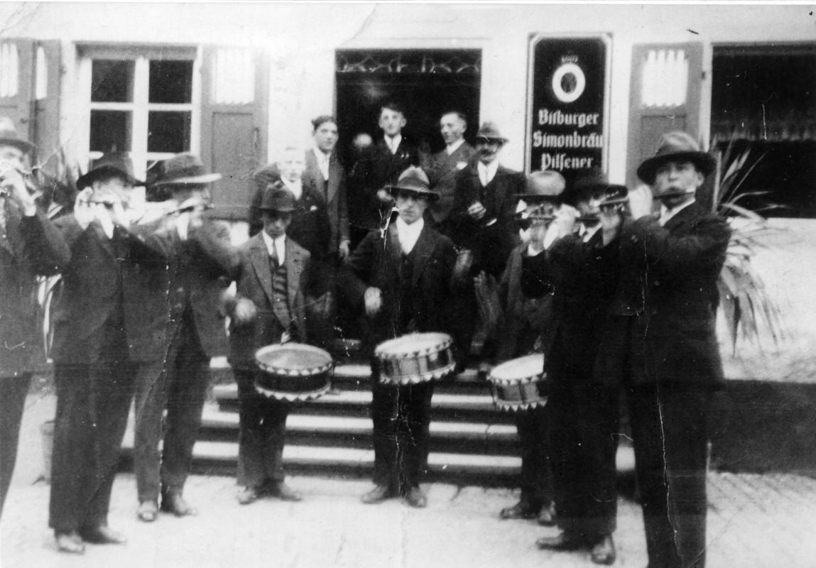 1935 Kyllburger Musiker in St. Thomas