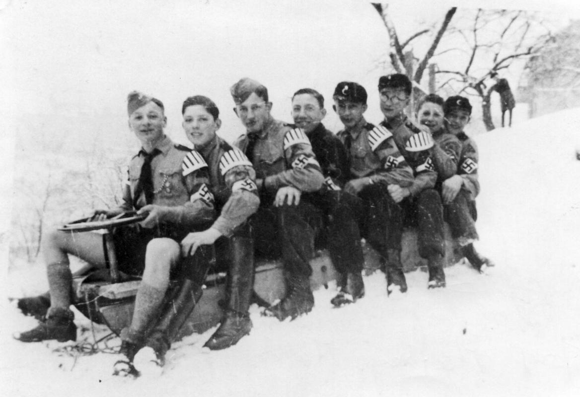 1935 Schlittenfahrt
