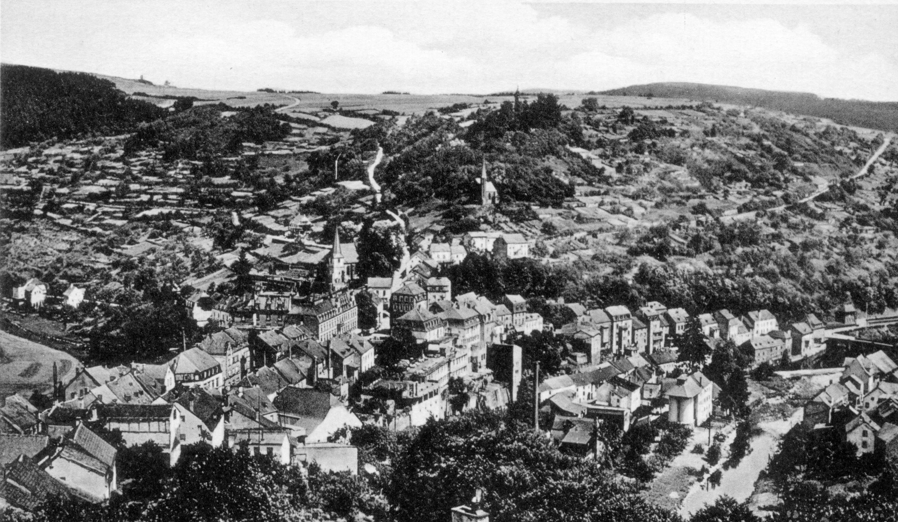 1938 Blick von der Schönen Aussicht