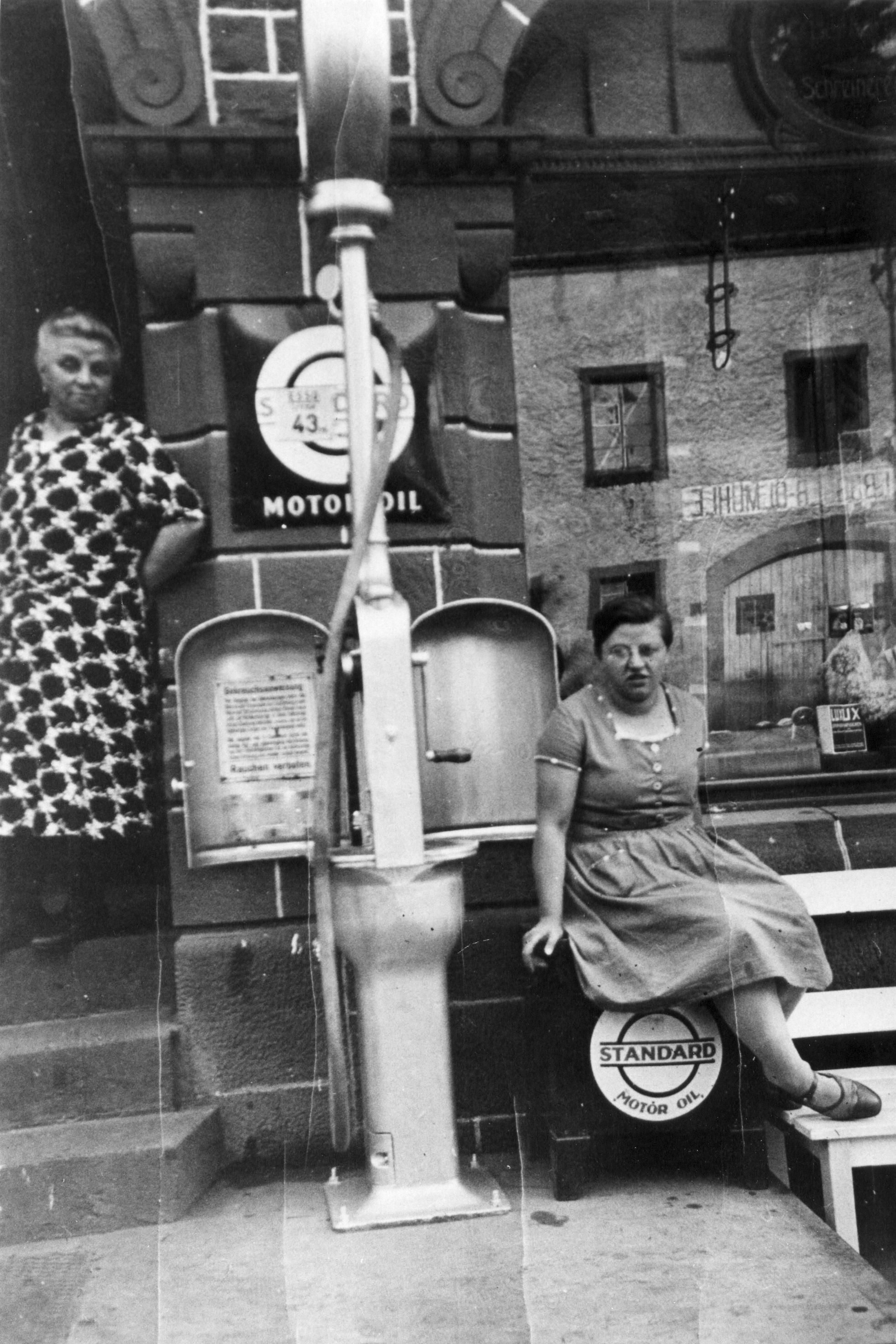 1938 Tankstelle