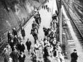 1936 Karneval beim Bahnhof