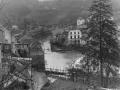 1945 - Blick zur gesprengten Kyllbrücke