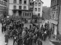 1945 - Versammlung auf der Hochstraße