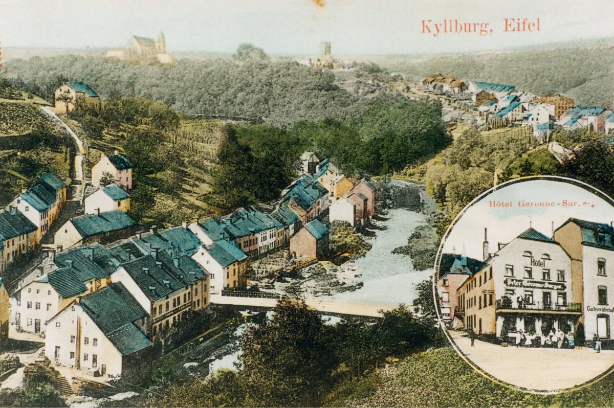 1900-Ansichtskarte-mit-Hotel-Geronne