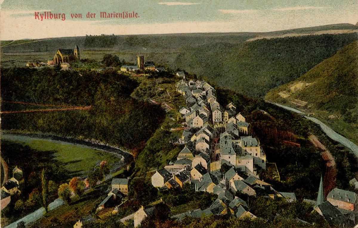 1900-Kyllburg-von-der-Mariensaeule
