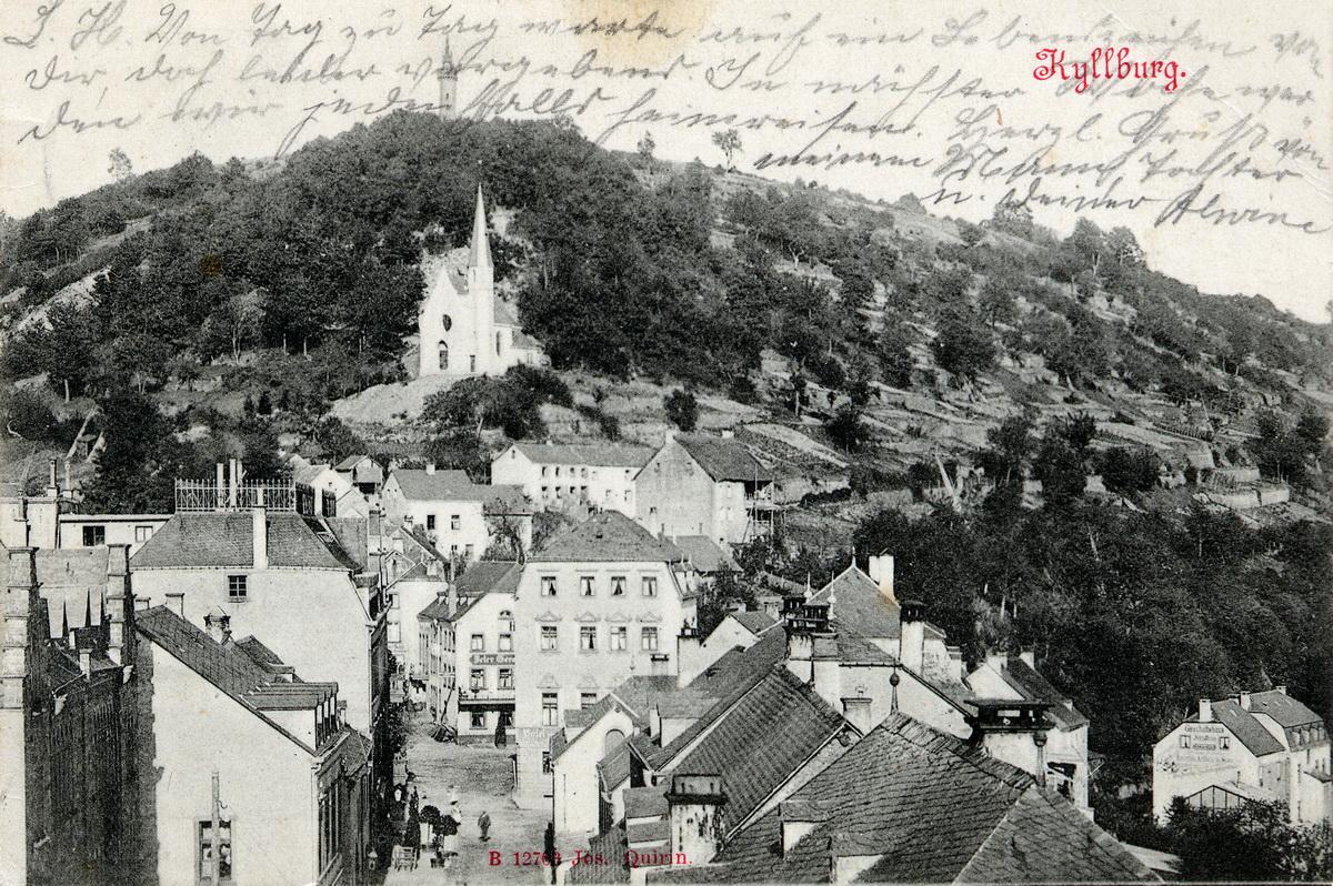 1902-Blick-zur-Mariensaeule