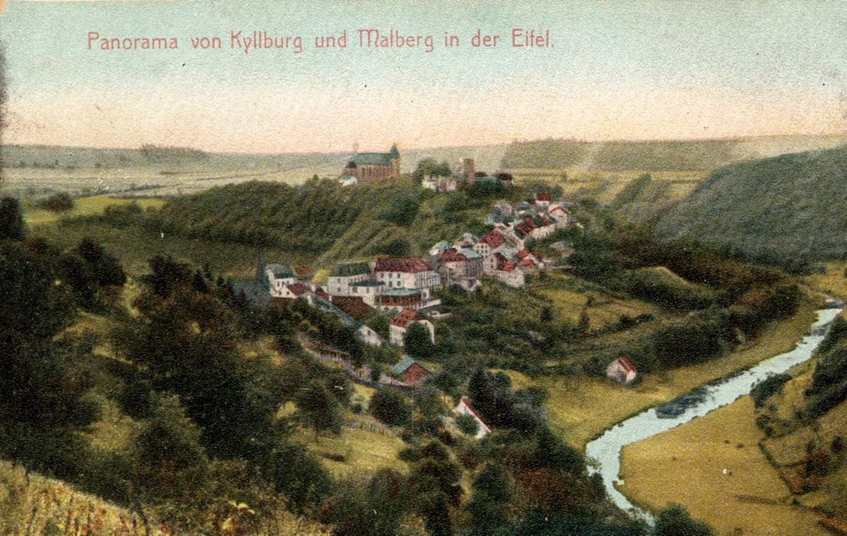 1905-Panorama-Kyllburg