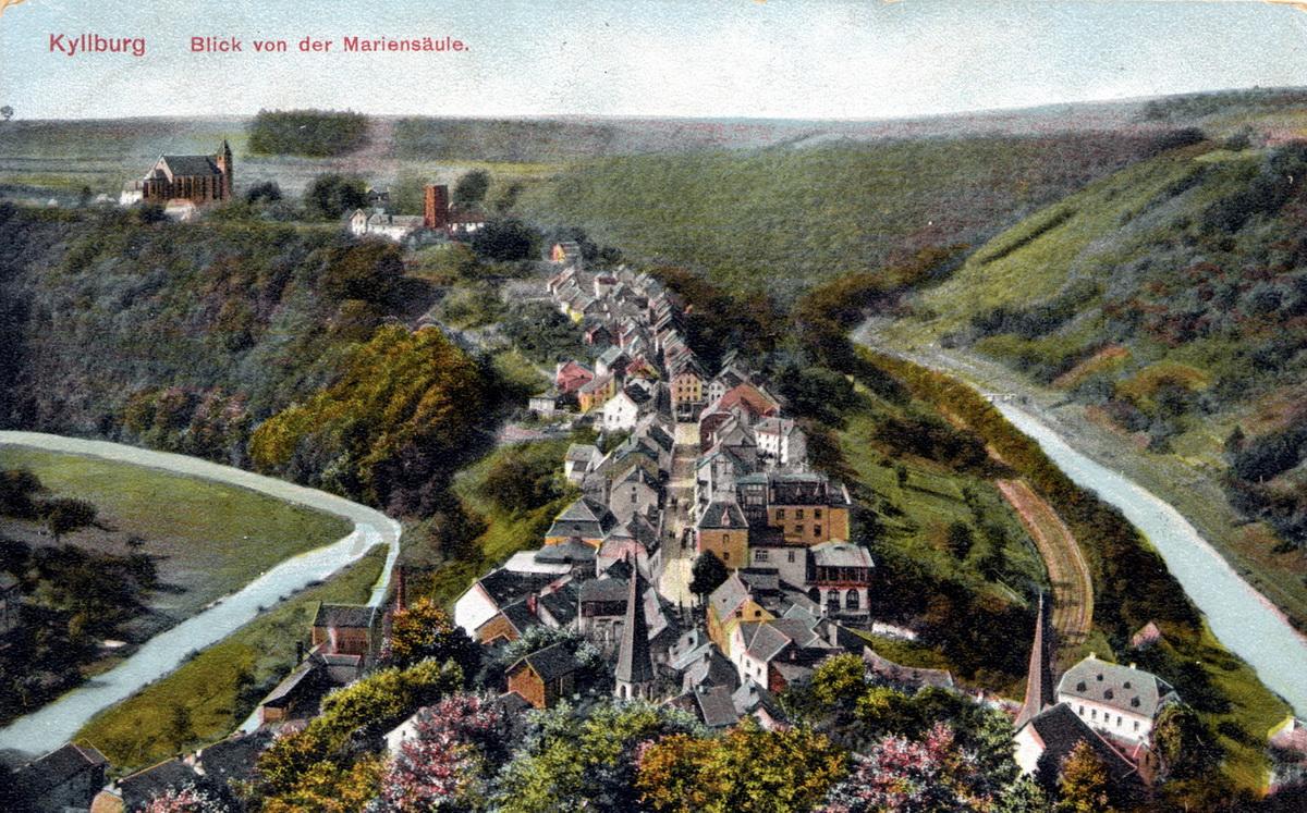 1910-Blick-von-der-Mariensaeule
