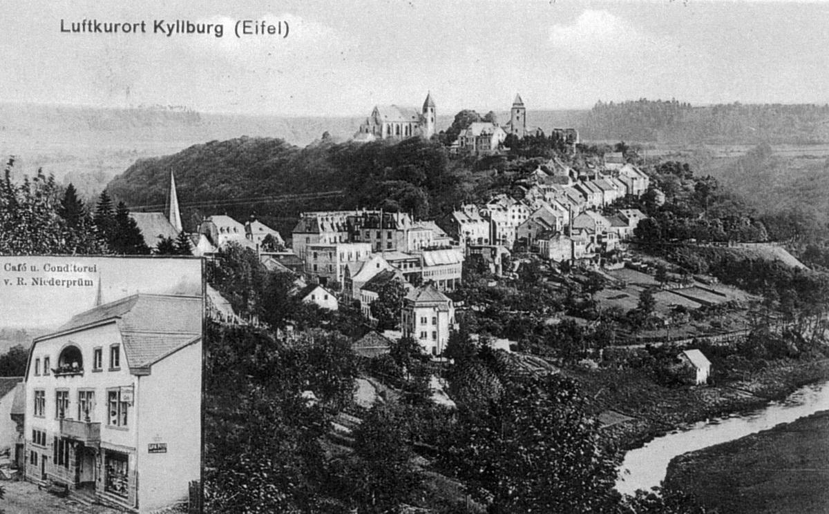 1915-Blick-vom-Annenberg-und-Cafe-Niederpruem