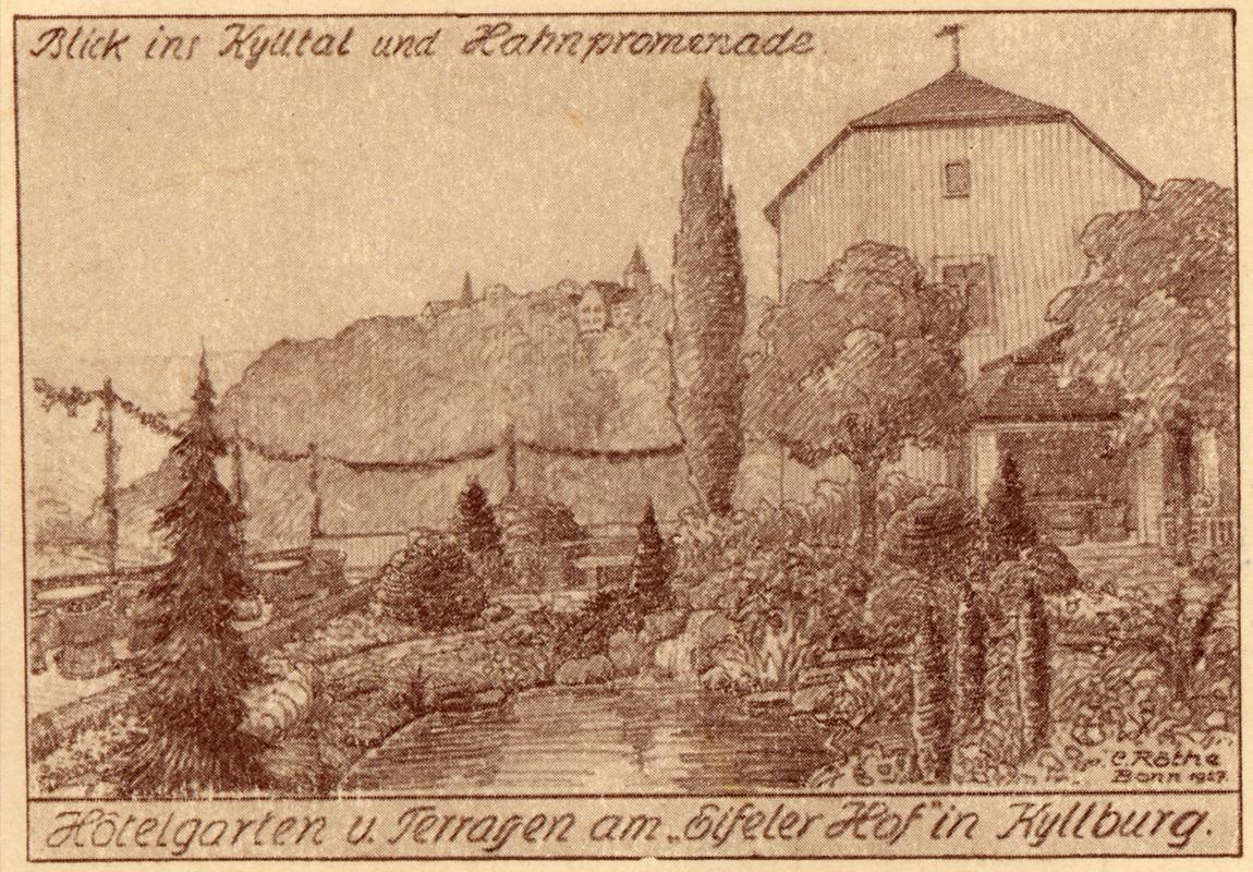 1927-Eifeler-Hof---Hotelgarten