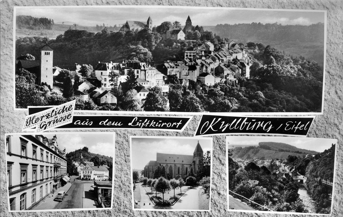 1962-Mehrbildkarte-Luftkurort-Kyllburg