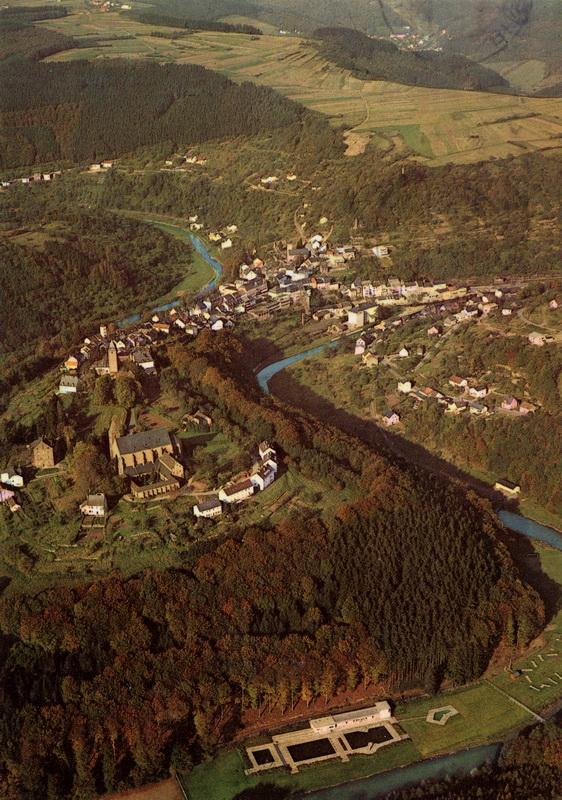 1970-Luftbild-Kyllburg