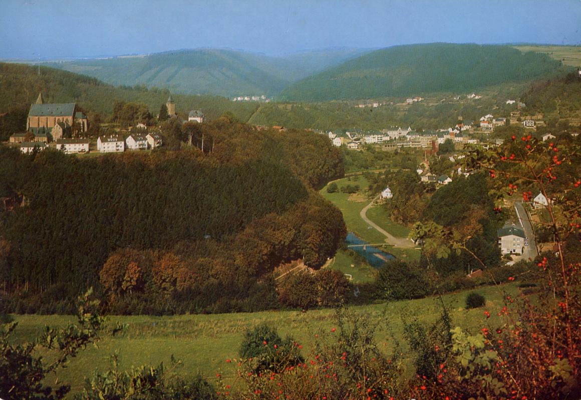 1973-Blick-auf-Kyllburg-und-Stiftsberg