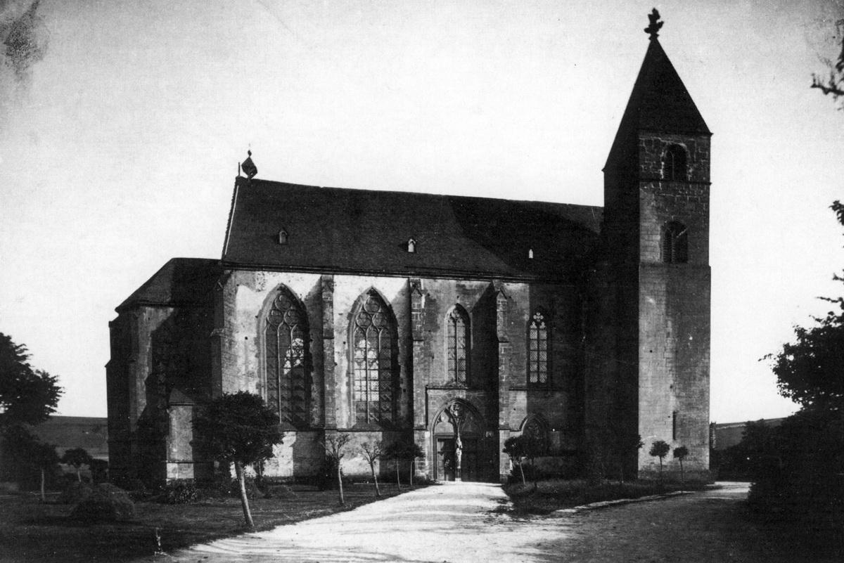 1910-Stiftskirche-von-Nord