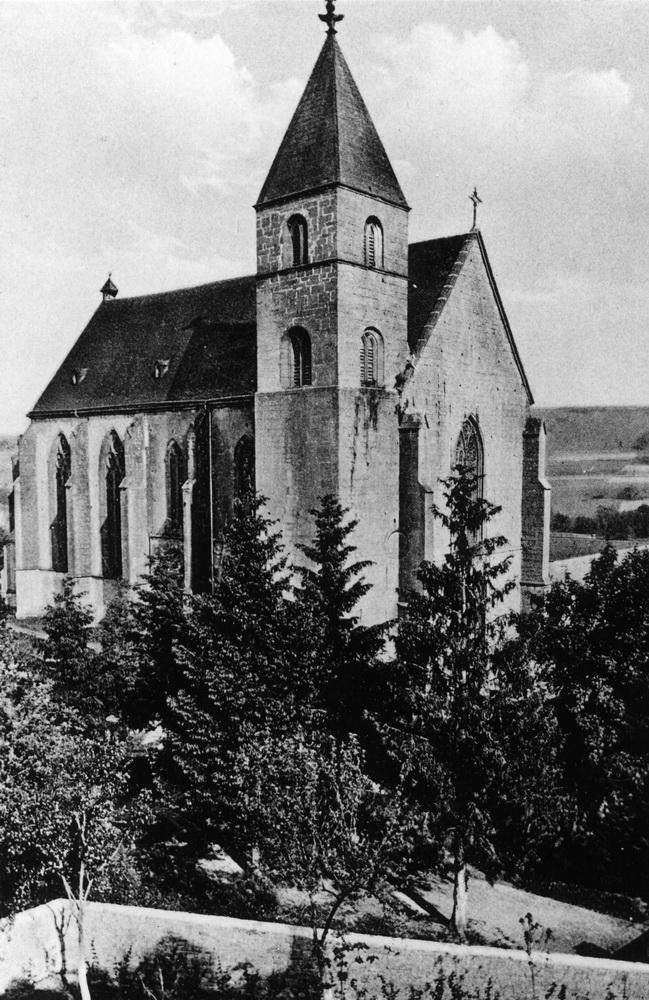 1925-Stiftskirche-von-Nordwest