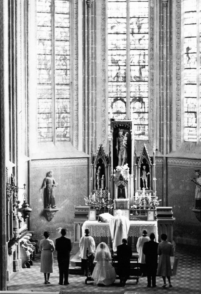 1956-Hochzeit