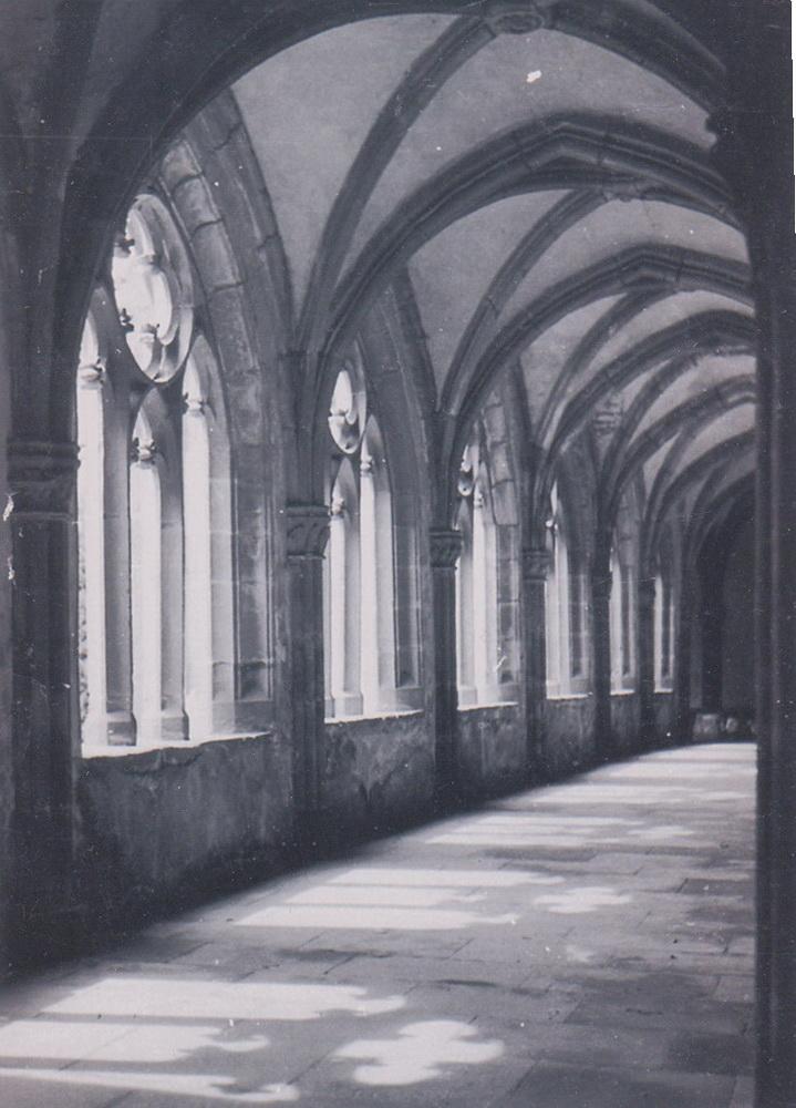 1956.Kreuzgang-Stiftskirche_1