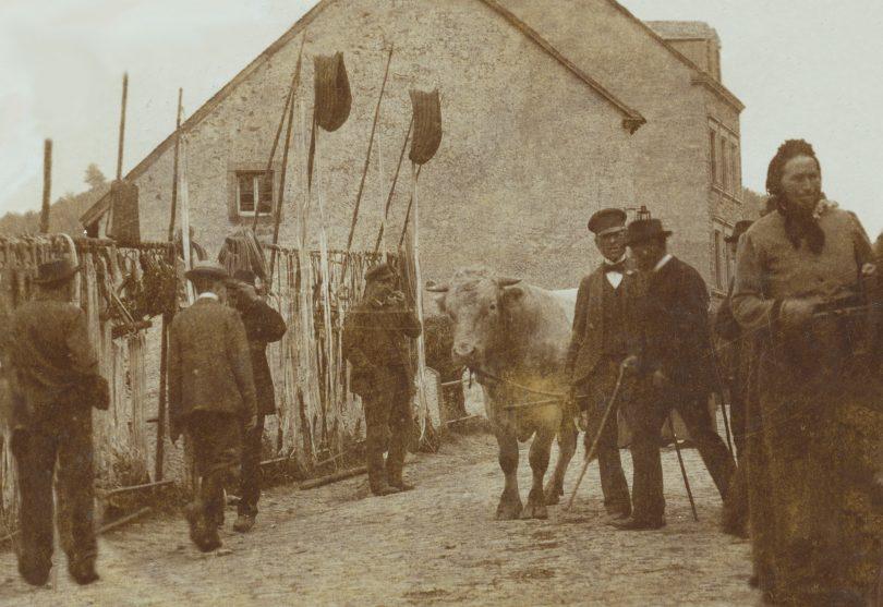 Kyllburger Viehmarkt 1900