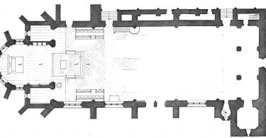 GrundrissStiftskirche Kyllburg