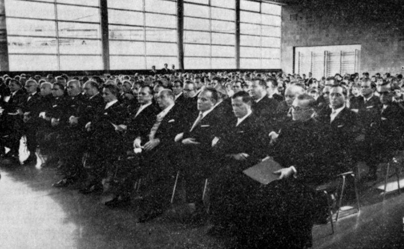 1968 Hauptschule Einweihungsfeier